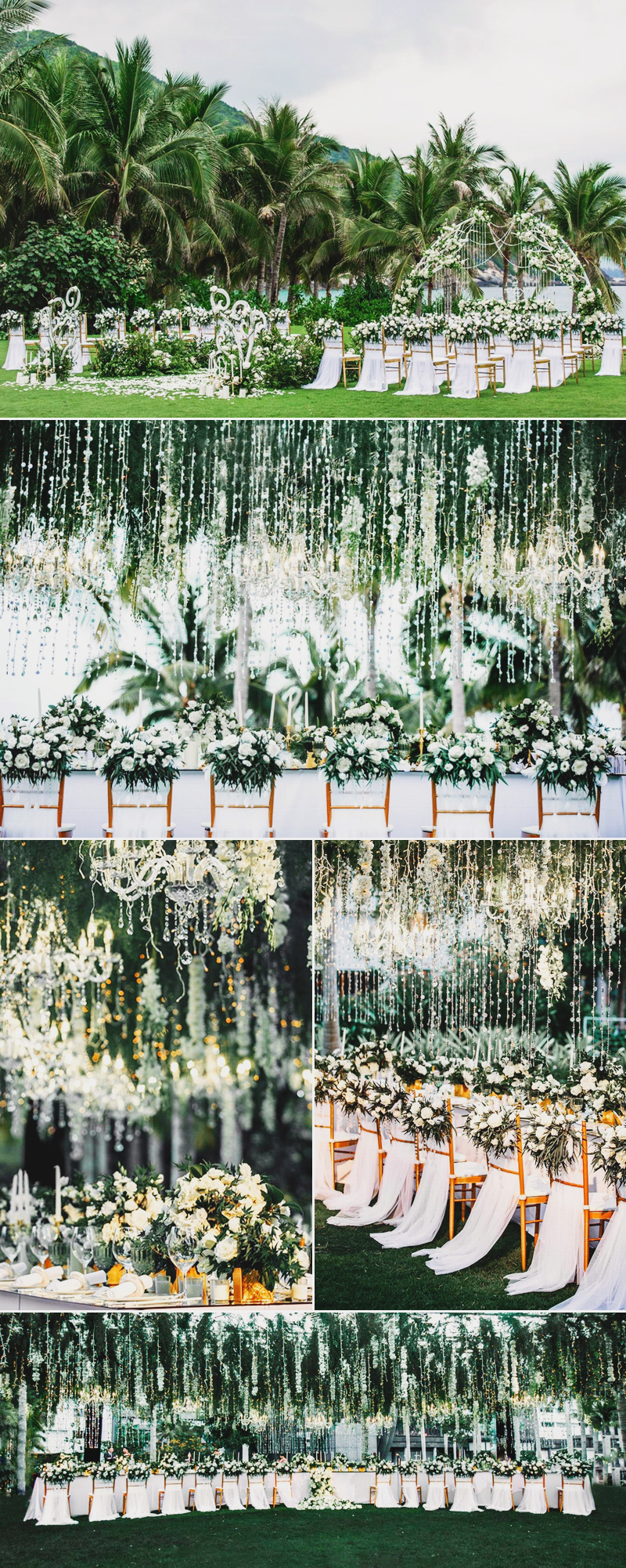 refreshing spring forest wedding theme