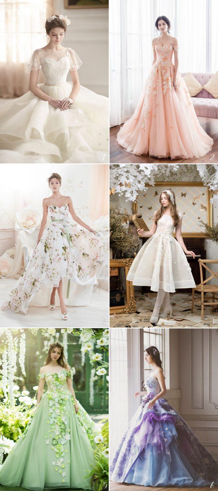 summer wedding gowns