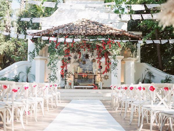soft pink vintage wedding