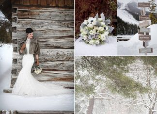 winter wedding color combos