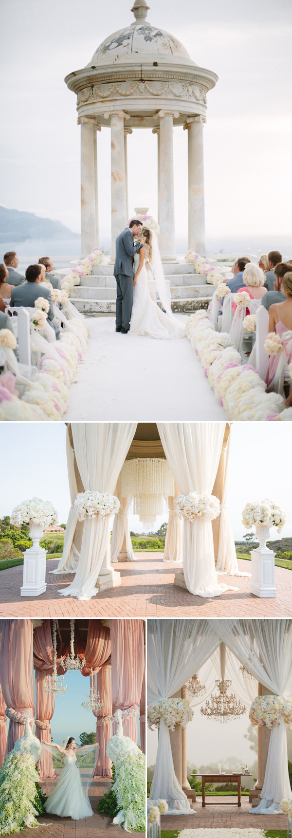 Timeless romantic wedding altar ideas looks classic and for Altar wedding decoration