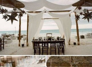 gorgeous beach wedding concept