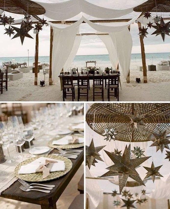 gorgeous beach wedding concept