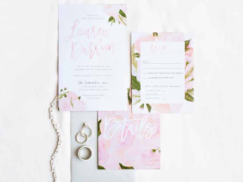 Blush-Floral-Wedding-Invitations Ideas