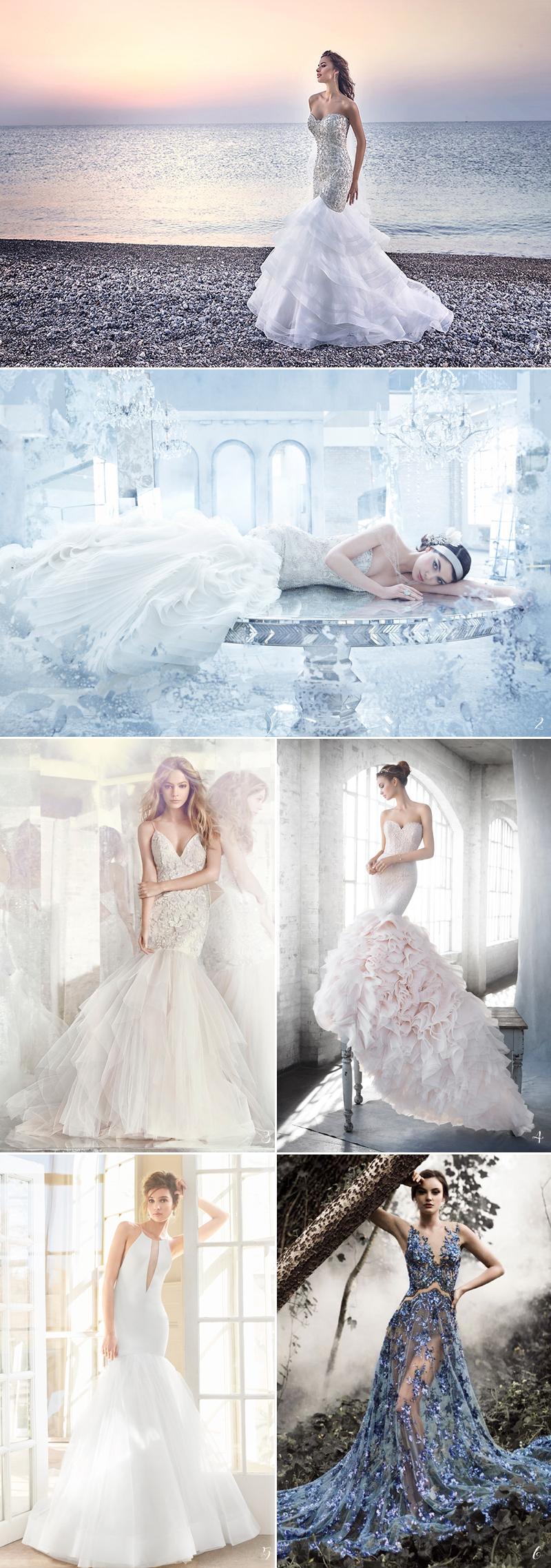ariel mermaid wedding gown for disney wedding dresses