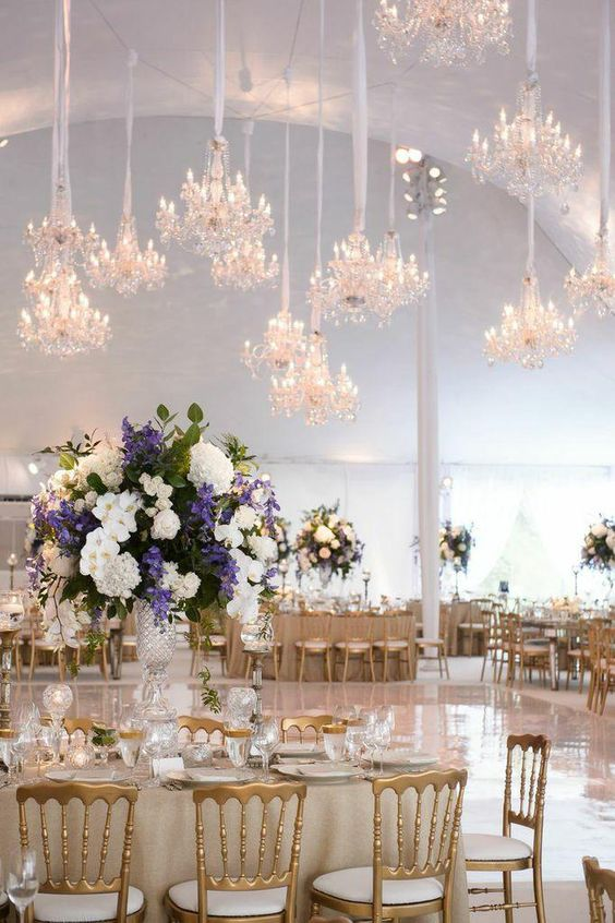 beautiful lighting for wedding decoration