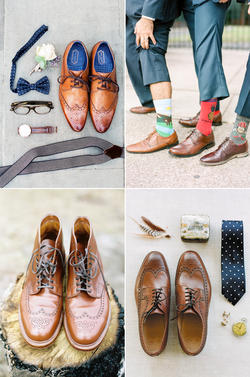 brogue groom fashion style