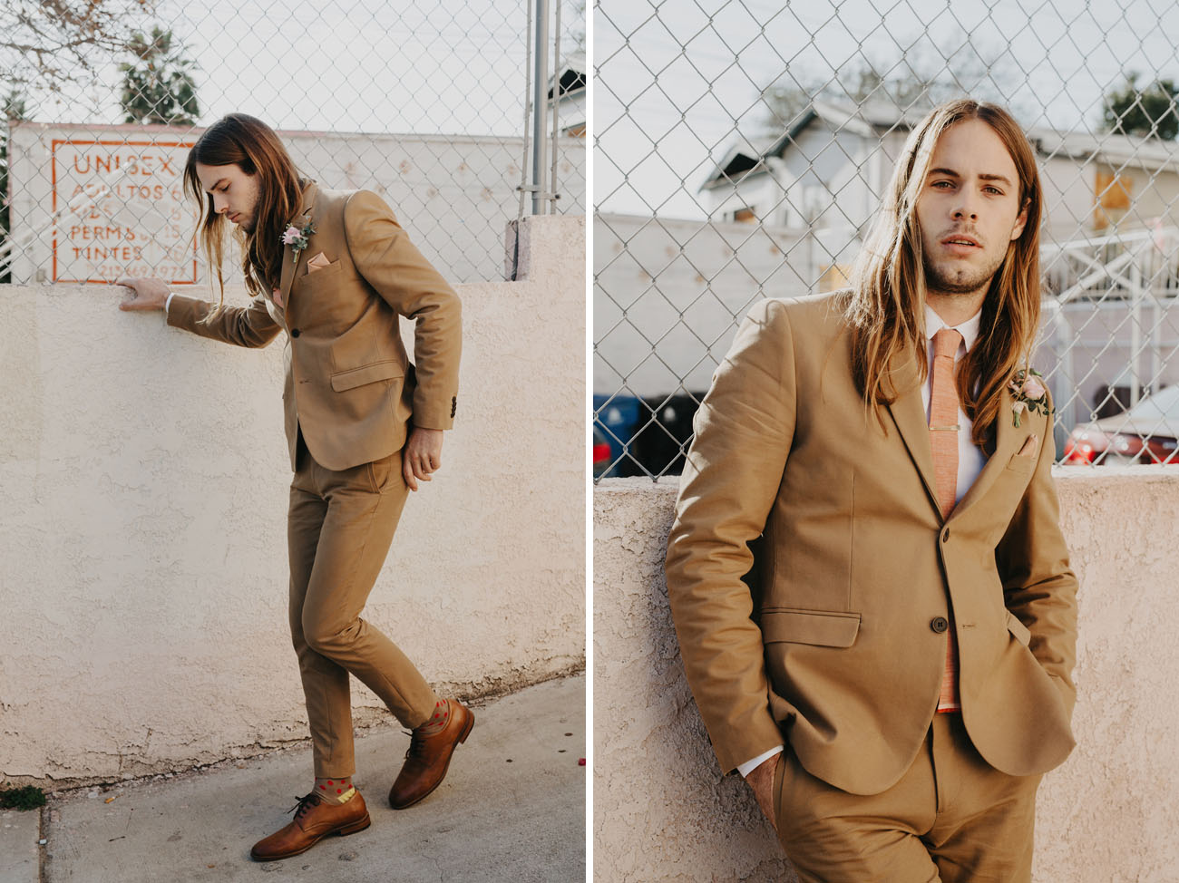 brownie wedding groom's fashion