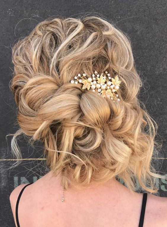 charming hairstyle for brides