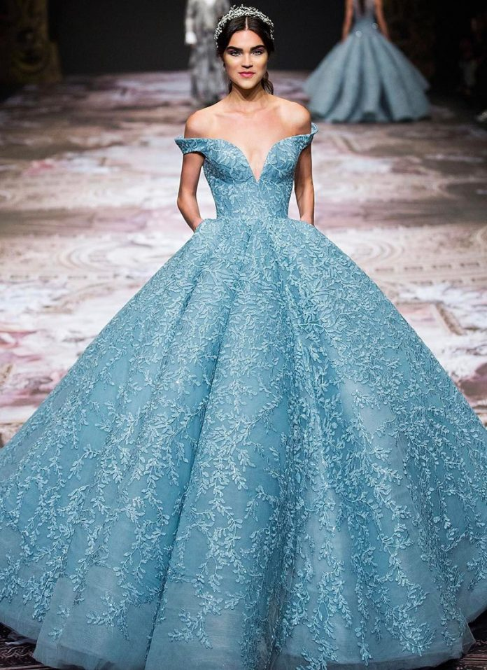 magnificent ball gowns