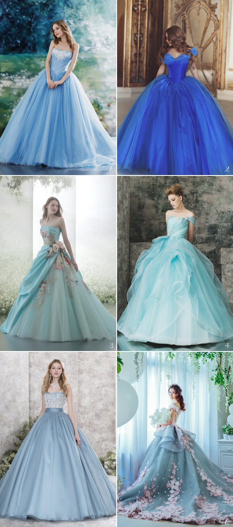 cinderella wedding dresses theme