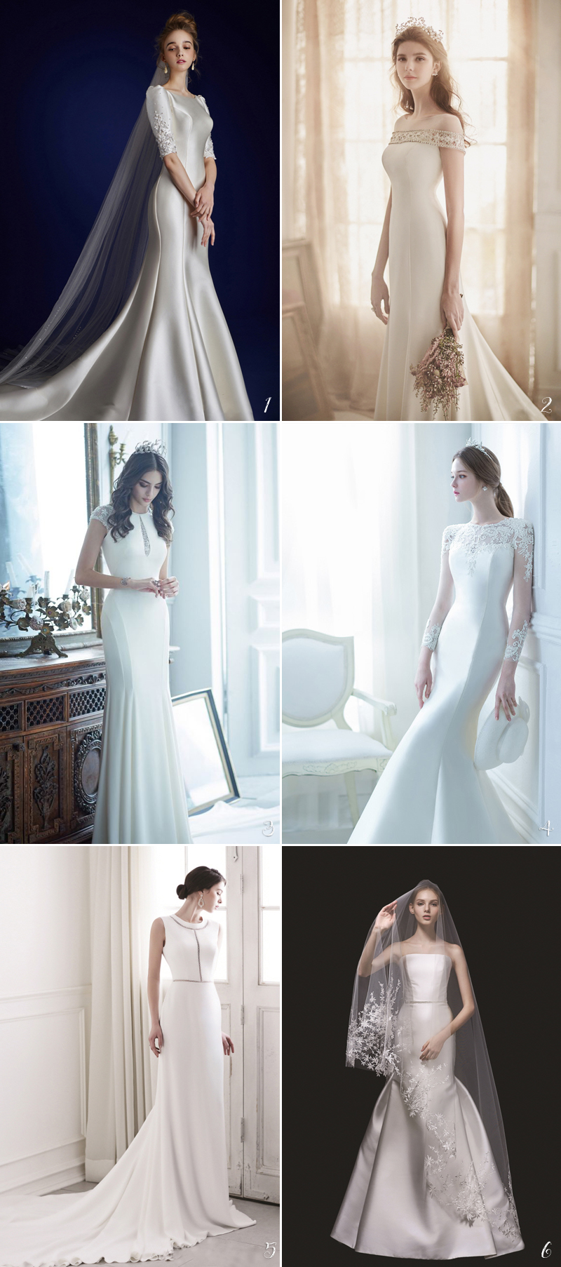 Classic And Elegance Wedding Gowns Making You Looks
