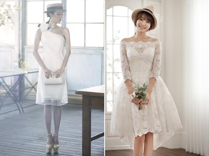 classic modern short dress