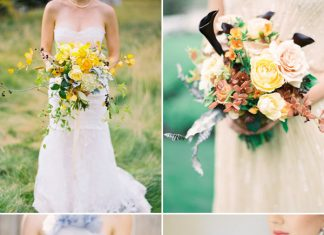gorgeous fall wedding bouquet ideas