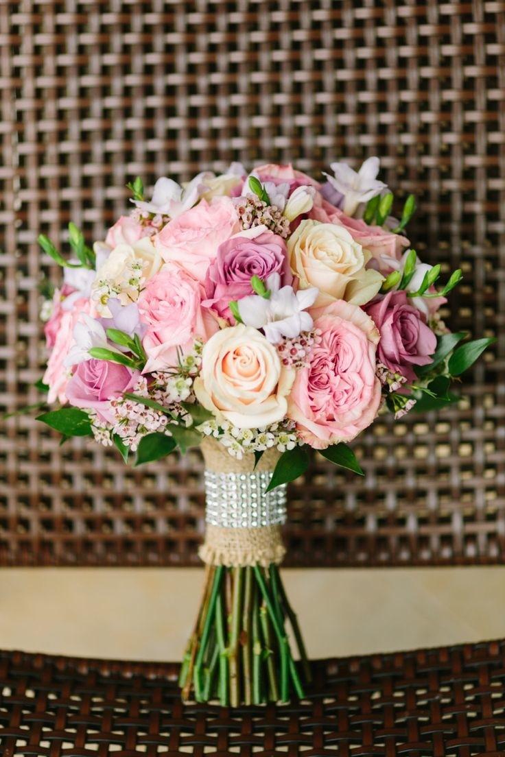 colorful wedding bouquet design