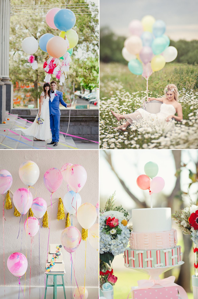 colorful wedding complement decor ideas