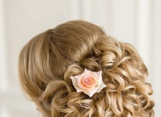 gorgeous wedding hairstyle for brides