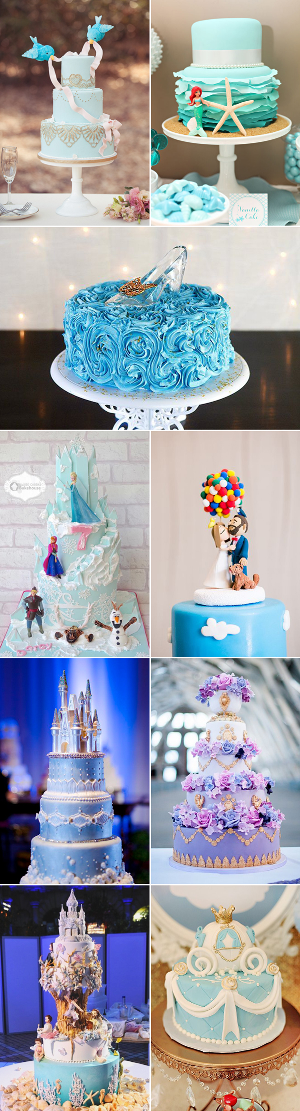 disney theme for wedding cake ideas