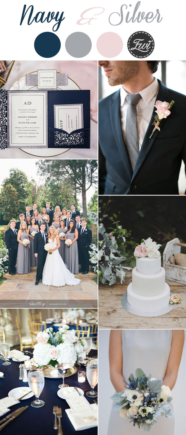 elegant-navy-and-silver-modern-wedding-color-inspiration