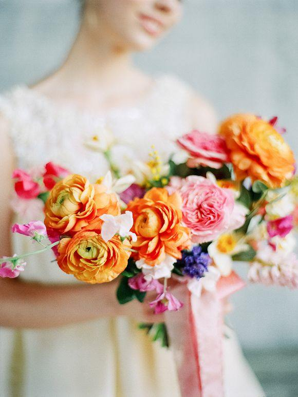 gorgeous small wedding bouquet