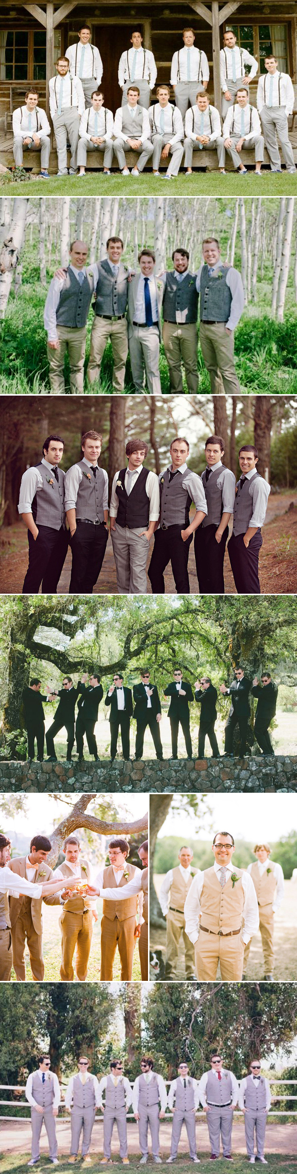 classic groom wedding style with vest