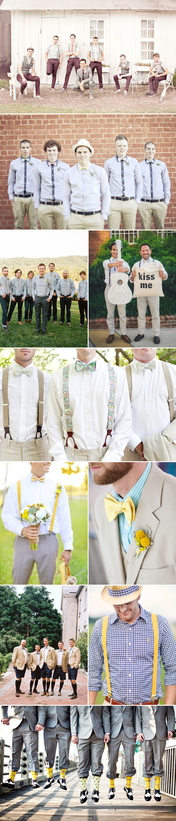 passionate vintage groom attire