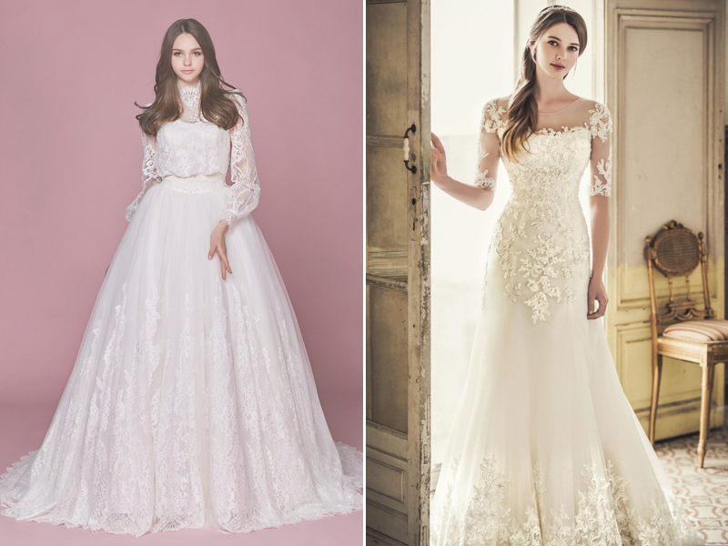 Simple Wedding Dresses: Classic And Elegant Wedding Dresses With Beautiful Lace