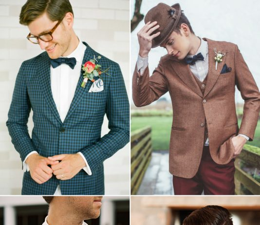 Tips to Style Groom For Vintage Wedding