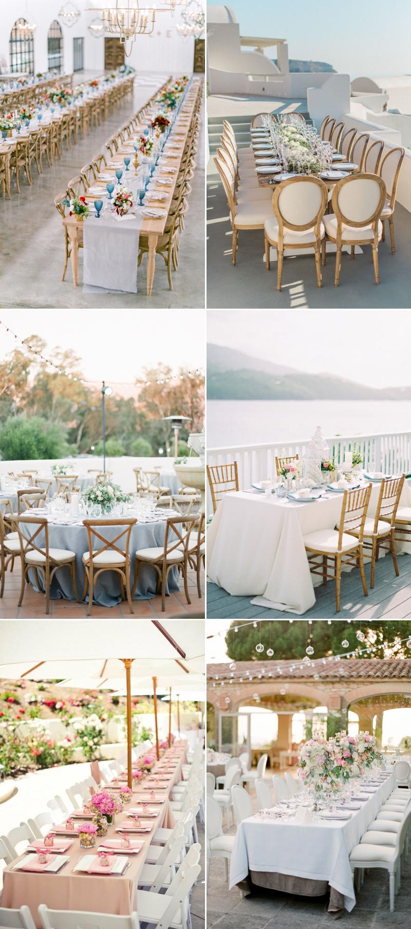 wedding reception in private villa