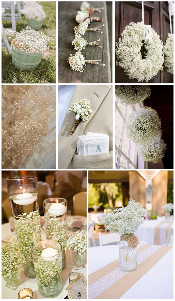 Gorgeous-babys-breath-wedding-decoration-ideas-for-your wedding day