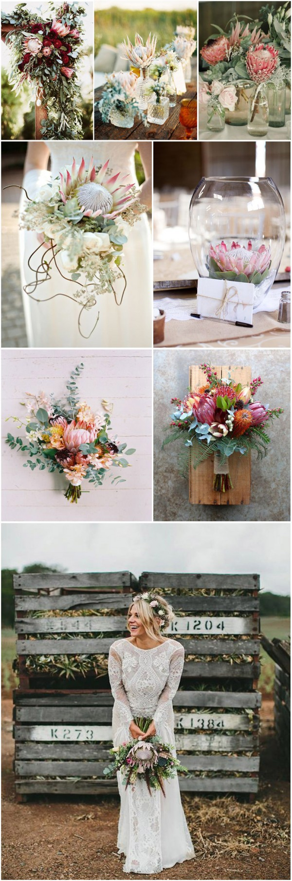 Protea-bouquets-and-decorations-for-the-wedding-ceremony