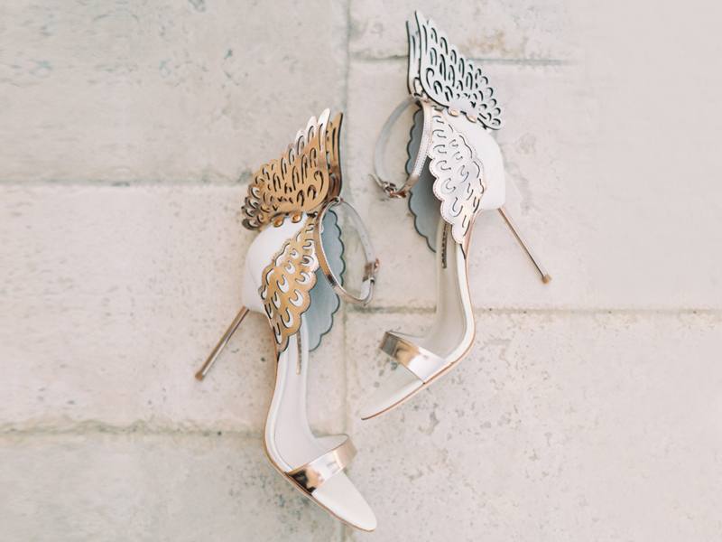 beautiful butterfly sandals for wedding