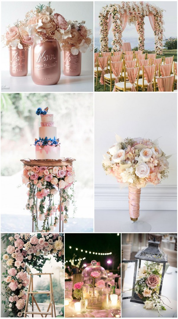 beautiful flowers wedding themed