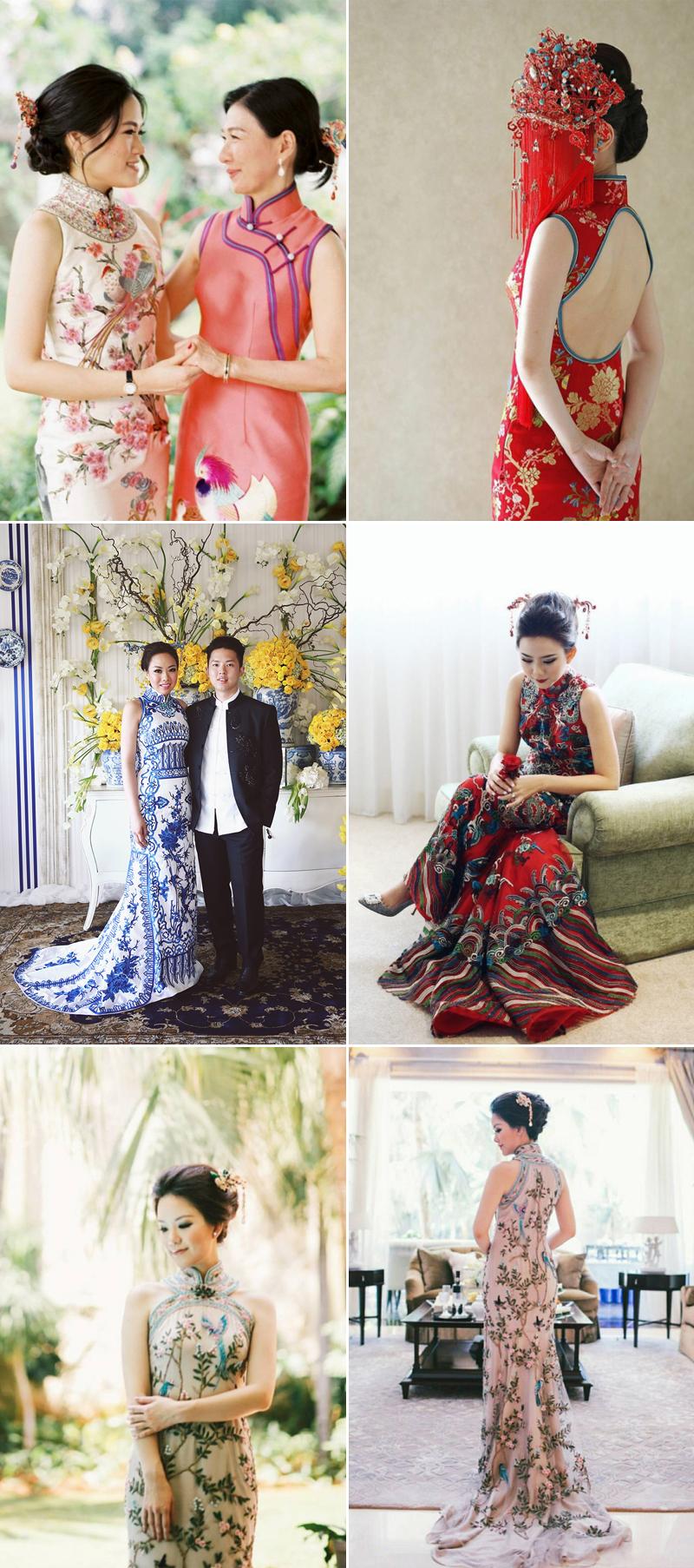 elegant chinese wedding dress