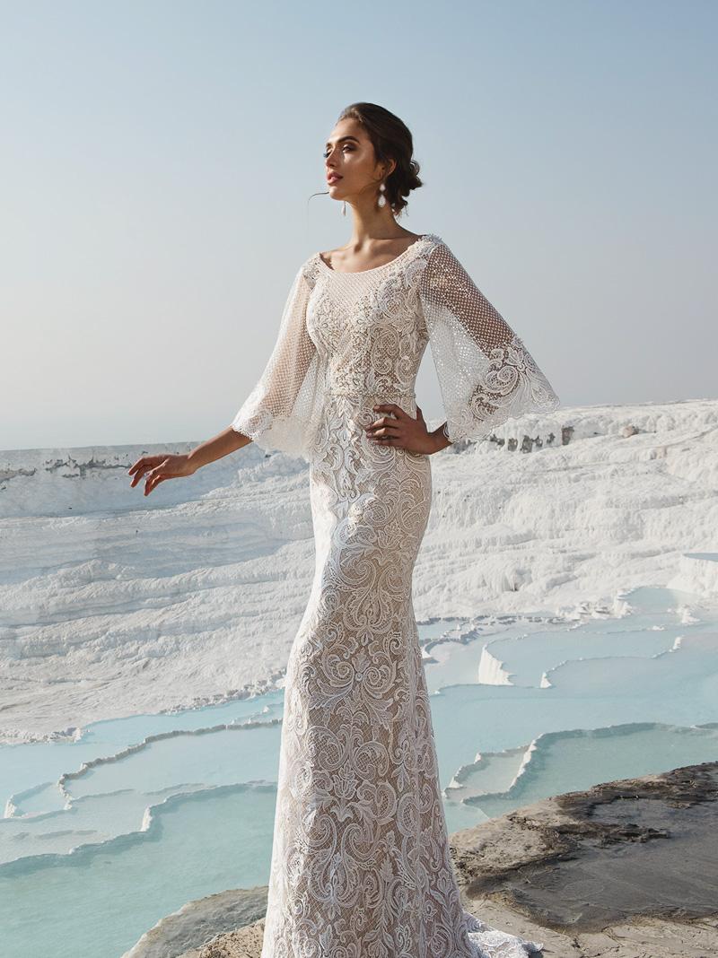 elegant vintage wedding dress