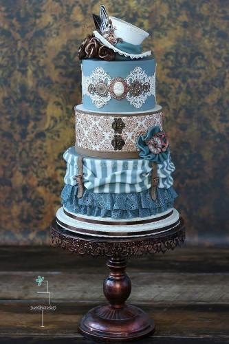 fairy tale wedding cake design