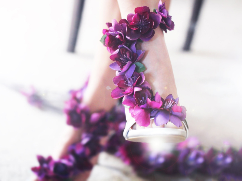 fabulous wedding shoes for bride