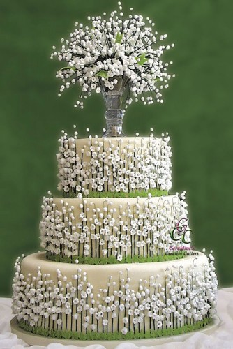 fascinating wedding cake ideas