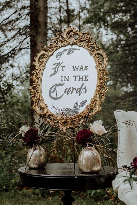 halloween wedding board