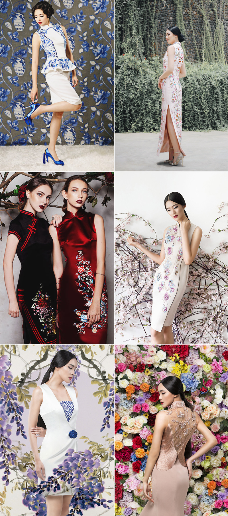 modern and gorgeous Chinese wedding dress
