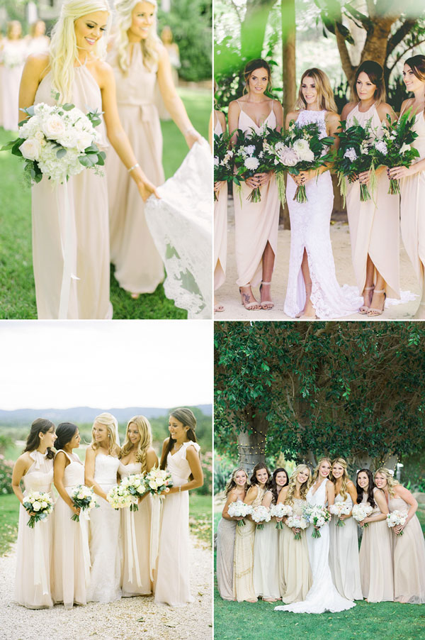 simple-modern-beige-color-bridesmaid-gown