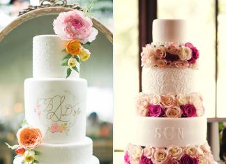 the sweetest wedding cakes
