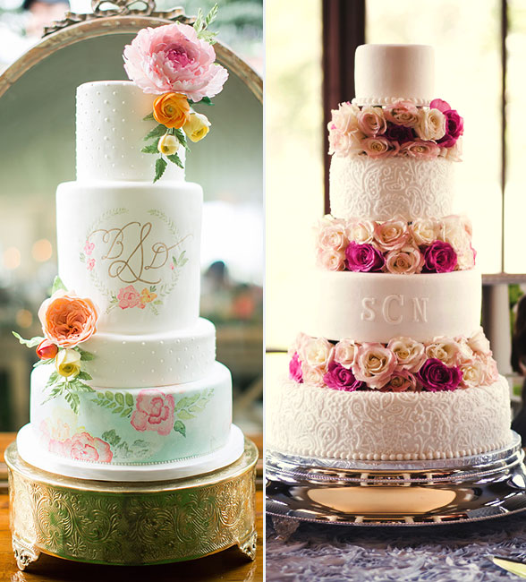 the sweetest wedding cakes