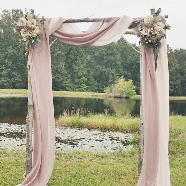 Outdoor Wedding Arch: Natural Outdoor Wedding Decoration Ideas For Your