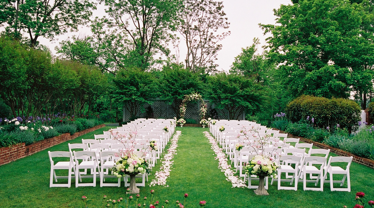 Natural Outdoor Wedding Decoration Ideas For Your Memorable Moments