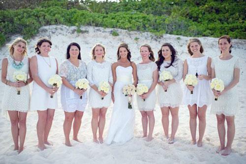 Short Bridesmaid Dresses 2