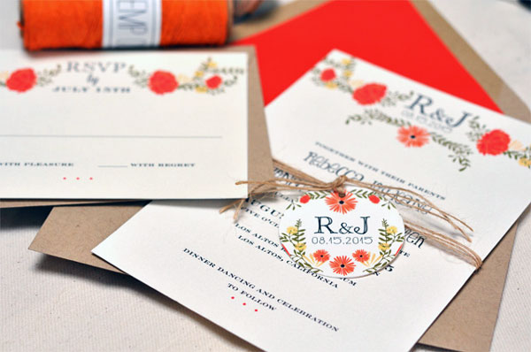 Summer Wedding Invitation 10