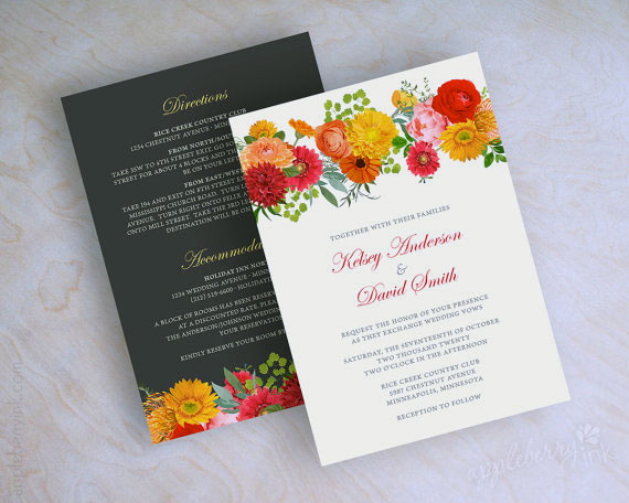 Summer Wedding Invitation 11