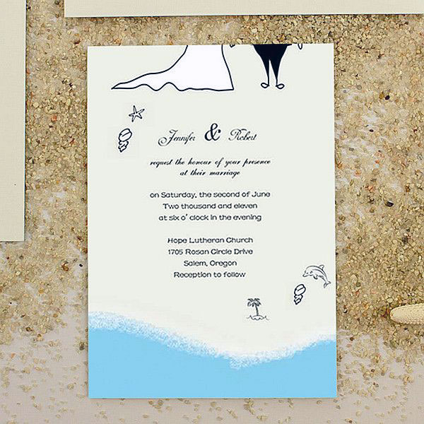 Summer Wedding Invitation 12