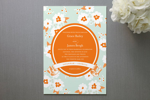 Summer Wedding Invitation 13
